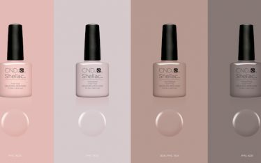 CND Shellac NUDE kollekció az Open Hair&Beauty belvárosi szépségszalonban