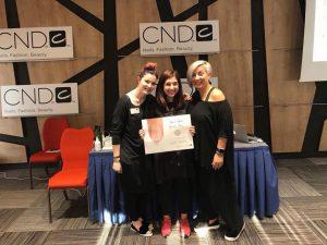 Open Hair & Beauty belvárosi szépségszalon Klein Fanni CND Color Education Ambassador