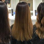 Budapest belvárosi fodrászat és körömszalon, OPEN Hair & Beauty shatush festett frizura Barcza Maximiliántól