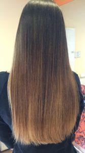 Budapest belvárosi fodrászat és körömszalon, OPEN Hair & Beauty szőke festés, shatush Barcza Maximiliántól