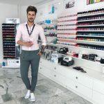 Open Hair & Beauty belvárosi szépségszalon Barcza Maximilián CND Education Ambassador