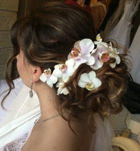 OPEN Hair & Beauty eskövői konty, esküvői frizura Barcza Maximiliántól