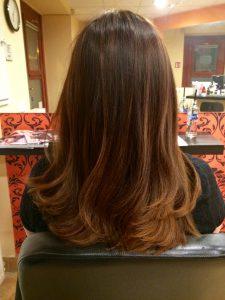 OPEN Hair & Beauty shatush festett haj Barcza Maximiliántól