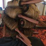OPEN Hair & Beauty brushing szárítási technika, festett szőke haj Barcza Maximiliántól