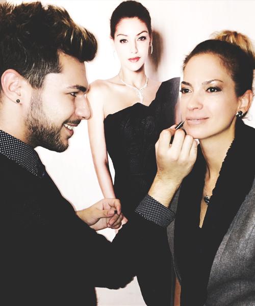 Open Hair and Beauty | Barcza Maximilián smink és haj készítése divatbemutatón