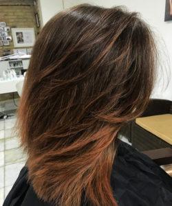 Open Hair and Beauty belvárosi fodrászat női vágás és shatush Barcza Maximiliántól