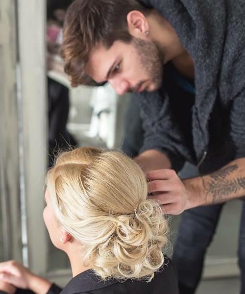 Open Hair and Beauty esküvői haj készítés